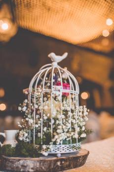 Birdcage Table Centrepiece