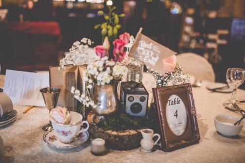 Vintage Styling Centrepieces
