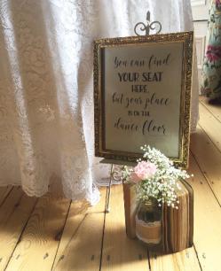 the vintage wedding fairy - killashee house table plan quote