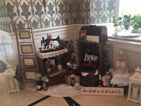 the vintage wedding fairy - step house hotel welcome